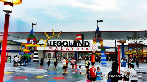 A glimpse of Legoland....