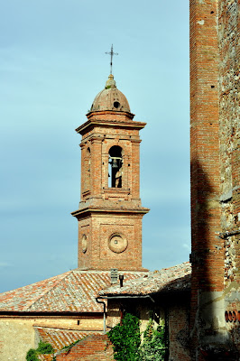 A Bell Tower in Montepulciano, Italy - Photo by Taste As You Go