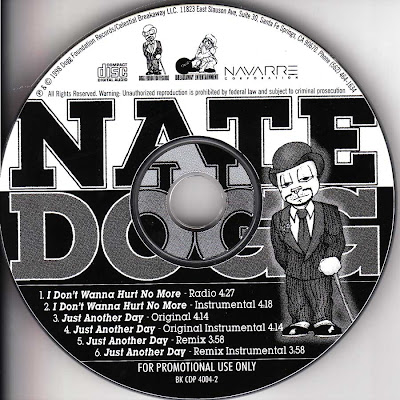Nate Dogg – I Don't Wanna Hurt No More / Just Another Day (Promo CDS) (1998) (320 kbps)