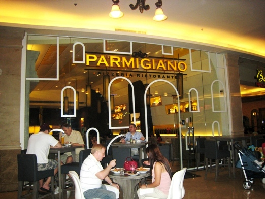 Anyway Back To This Parmigiano Restaurant