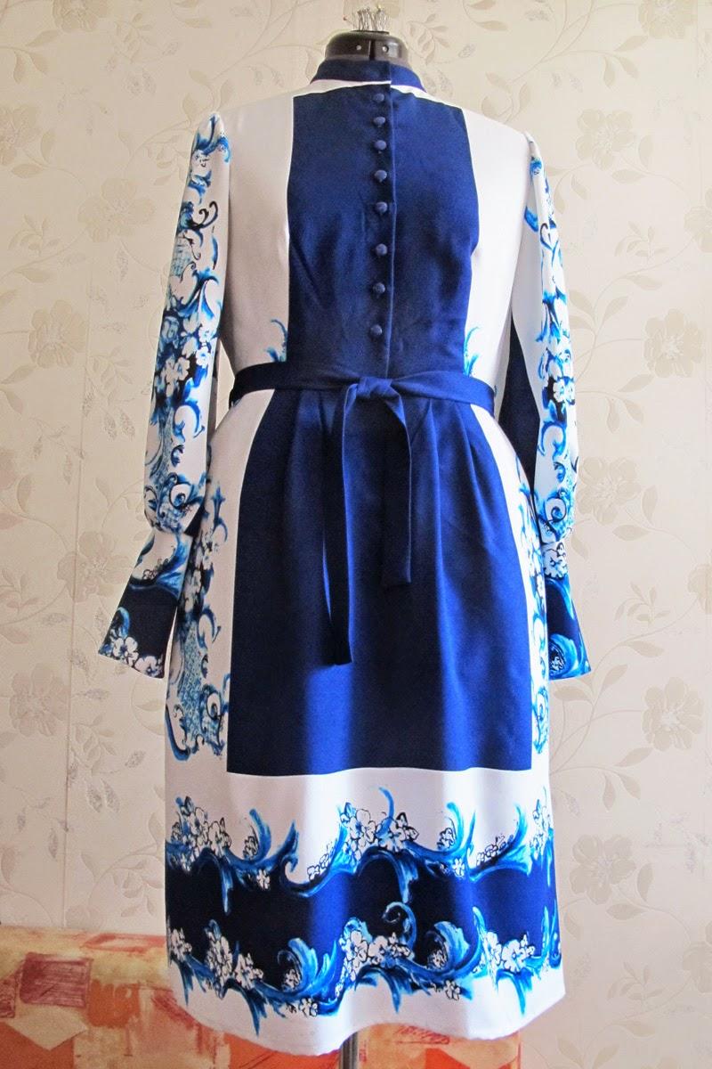 Гжель Платье Купить