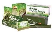 Take care of your body, eat healthy, and stay fit : Barley grass bolsters .