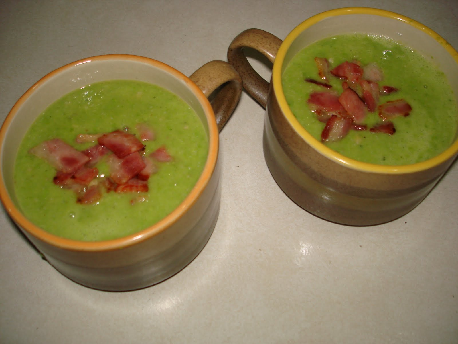 how to cook pea meal bacon