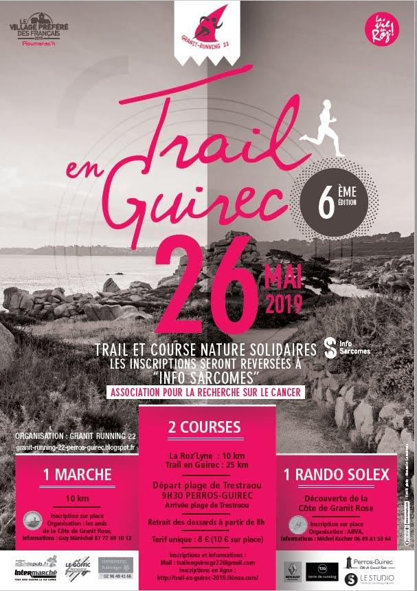 Trail en Guirec 26 mai 2019