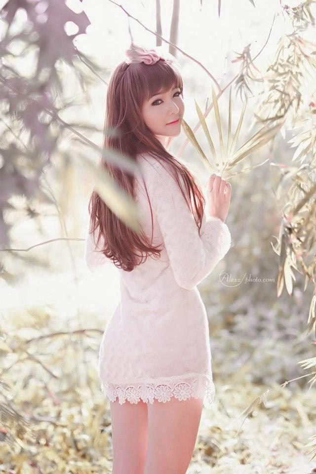 Ảnh gái đẹp HD xinh nhìn như búp bê 11