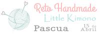 Reto handmade Little Kimono: Pascua.