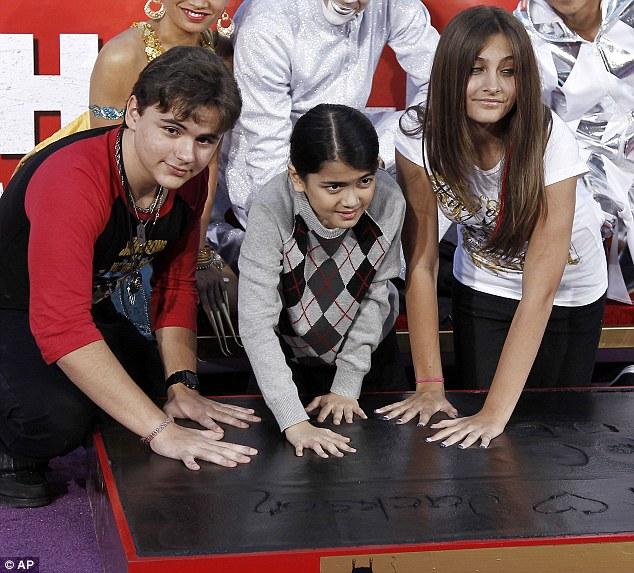 Poza zilei : Copiii lui Michael Jackson
