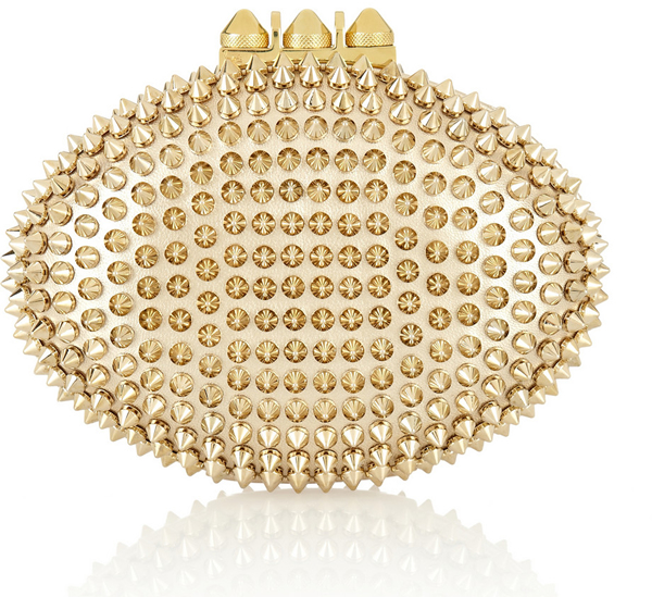 Passion For Luxury : Chic Mina Clutch by Christian Louboutin