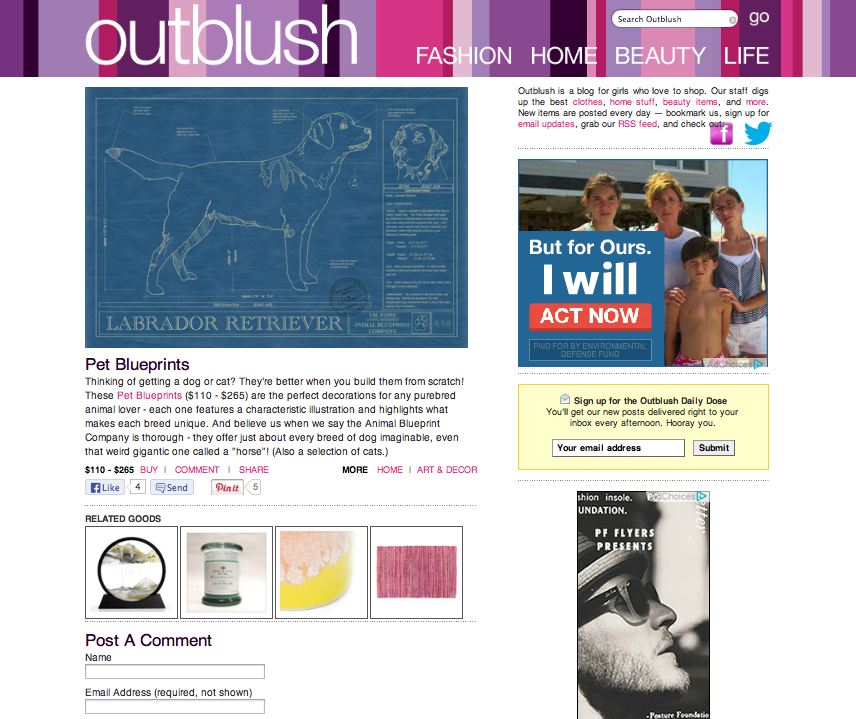 To you outblush features animal blueprint companys art outblush features animal blueprint companys art malvernweather Image collections