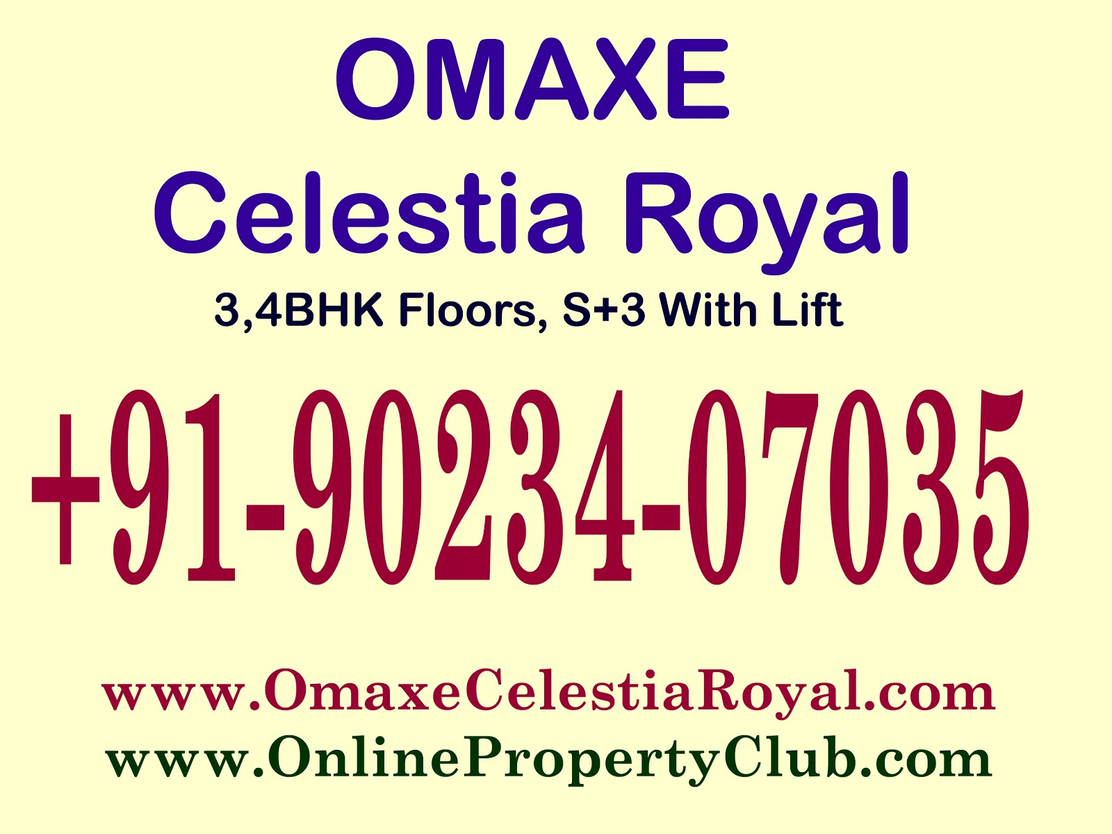 OMAXE CELESTIA ROYAL New Chandigarh Book Now