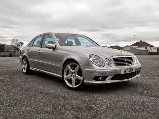 Mercedes benz w211 e55 amg on cls wheels benztuning for R h mercedes benz