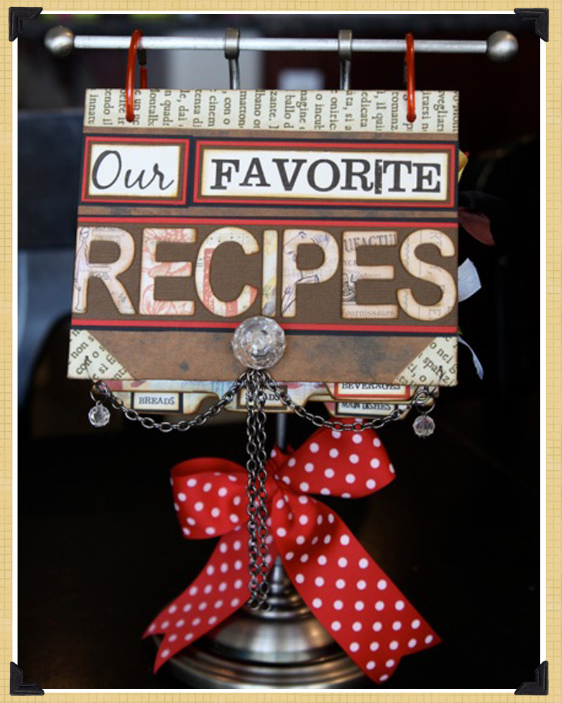 Recipe Book Cover Ideas : Gypsies journal projects and inspiration christmas gift