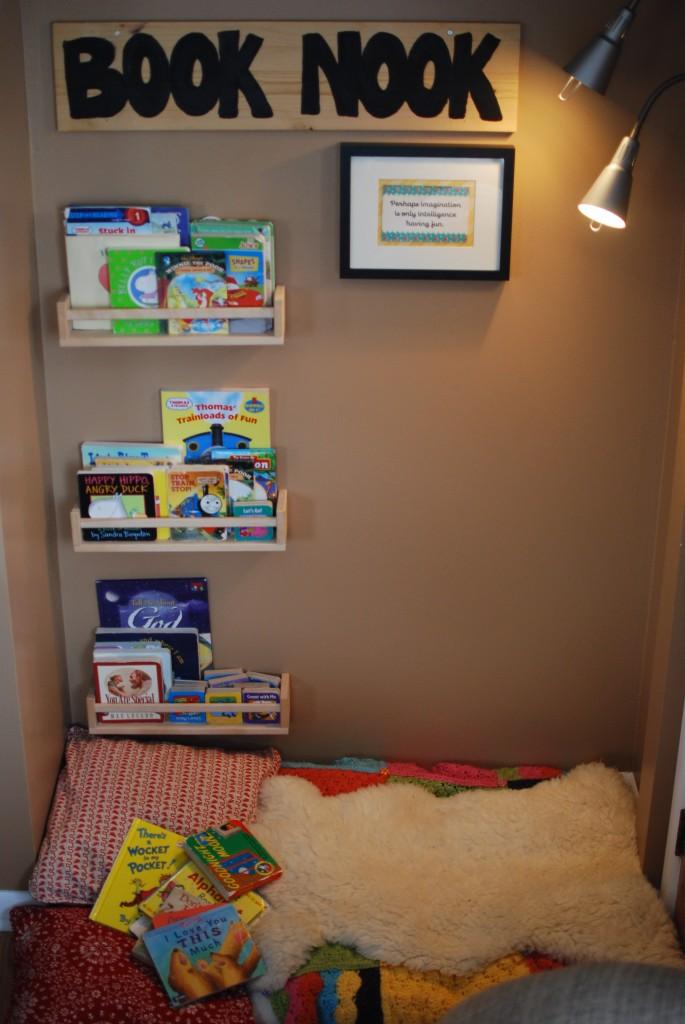 Little Learning Spaces A Diy Book Nook Preschool Powol