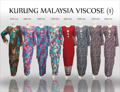 BAJU KURUNG MALAYSIA VISCOSE