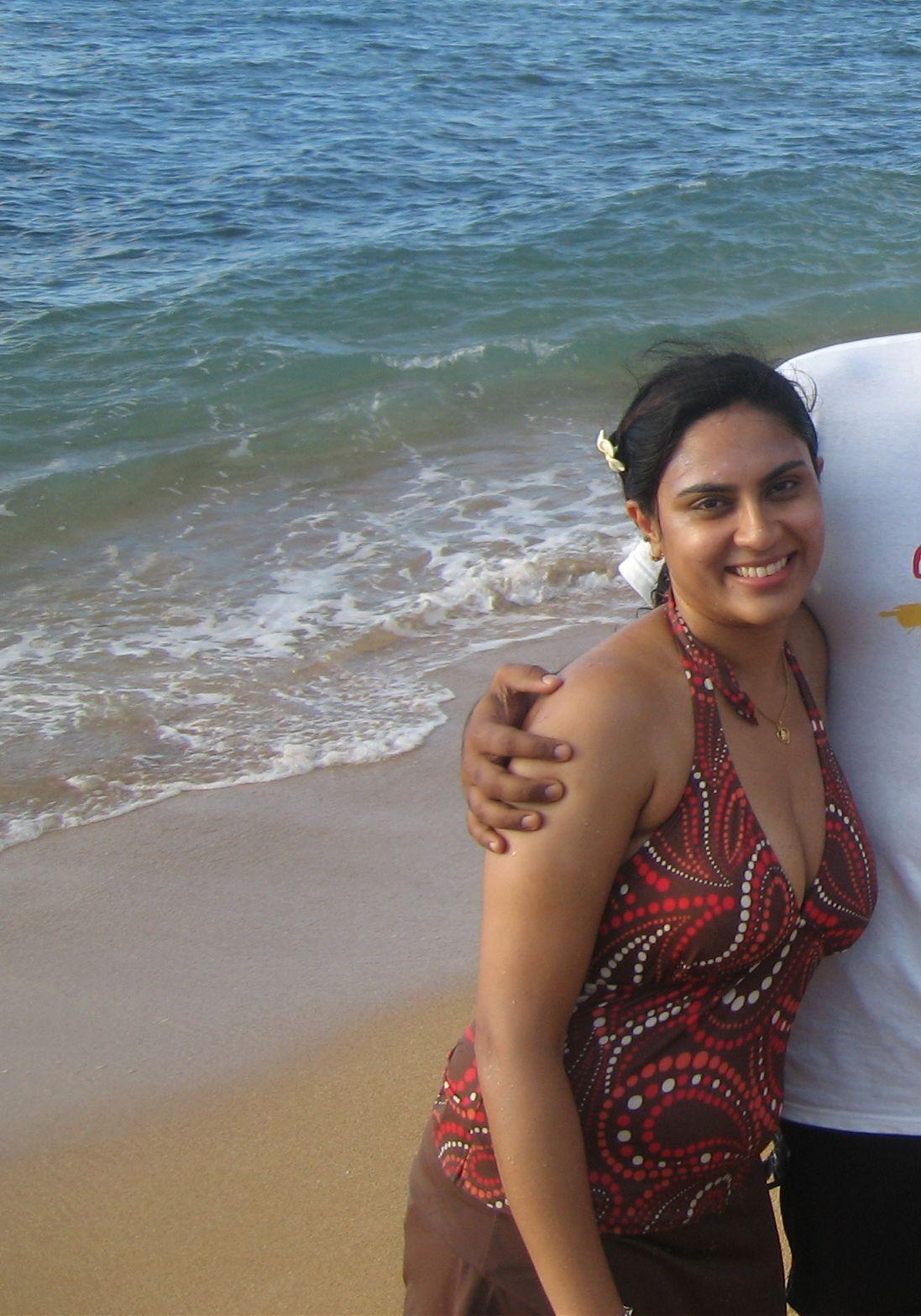Hot indian girls in Bikini at Goa Beach - Chuttiyappa
