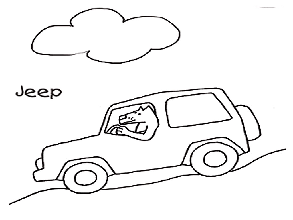 safari jeep coloring pages realistic coloring pages