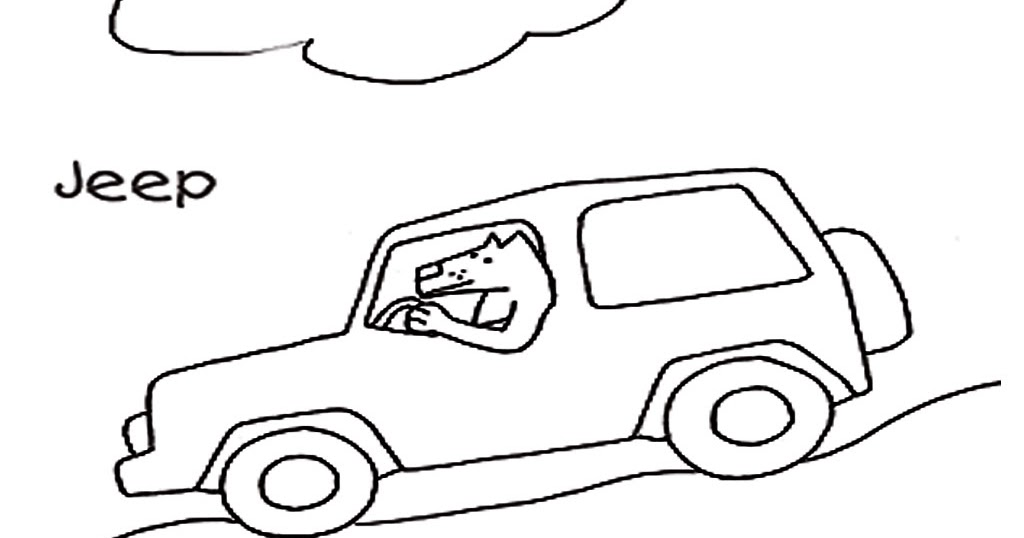 jeep coloring pages - safari jeep coloring pages realistic coloring pages