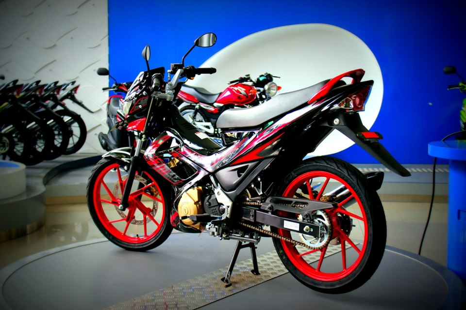 350+ Modifikasi Motor Satria FU Terbaru