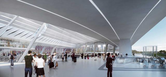 09-Flinders-Street-Station-Design-Competencia por Zaha-Hadid + BVN Architecture-