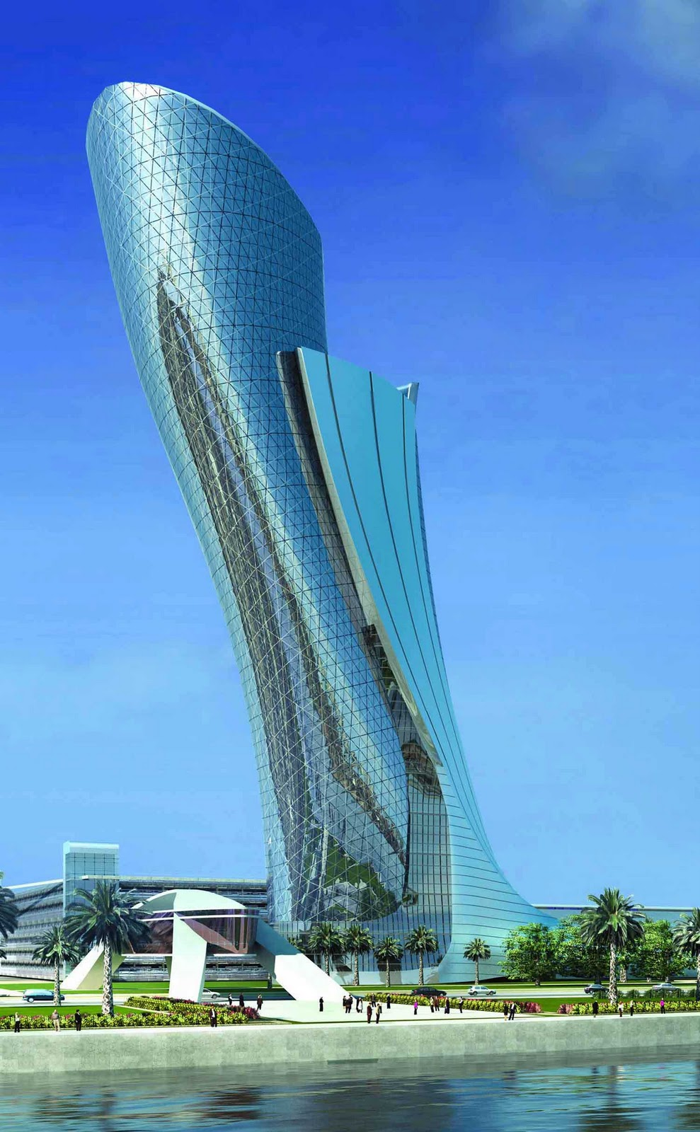 Famous world famous abu dhabi buildings for Architectural design companies in abu dhabi