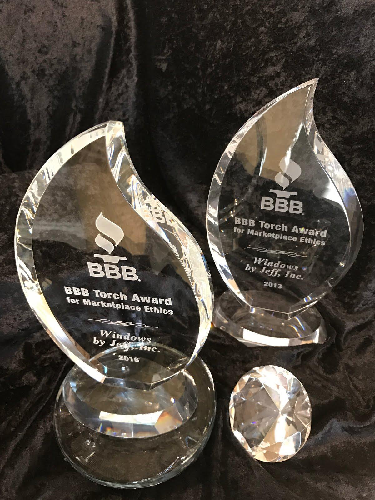 2-Time Torch Award Winner
