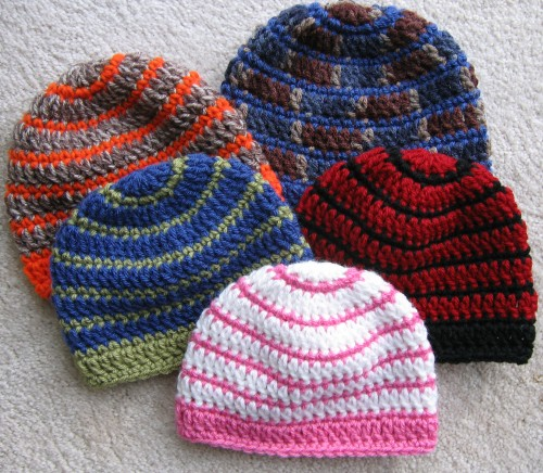 Better Late Than Never Beanies - Free Pattern