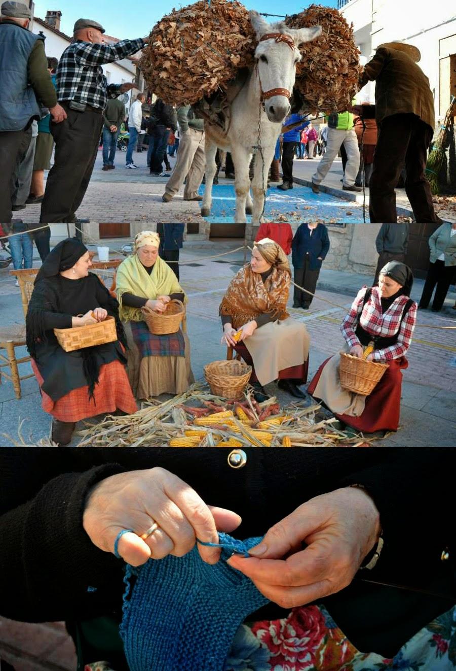 Estampa de Tradiciones (7 de diciembre en El Torno)