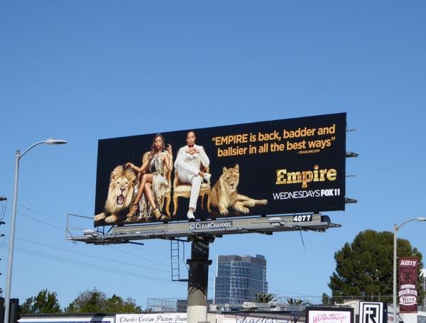Empire season 2 billboard