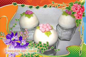 FRASQUITOS DE ROSAS