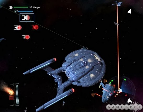 Gameplay Star Trek Legacy