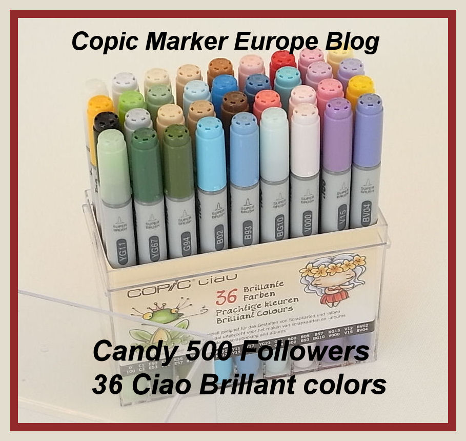 Copic Marker Europe Candy