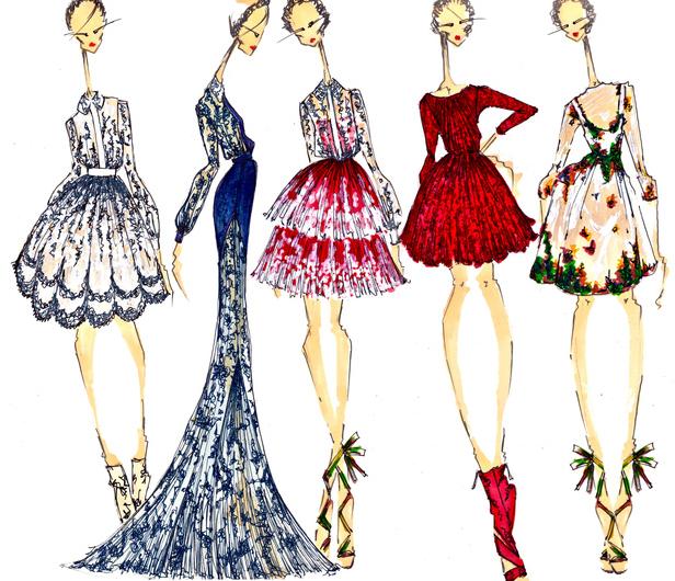 Elle Frances Interview Fashion Illustrator Joseph Larkowsky