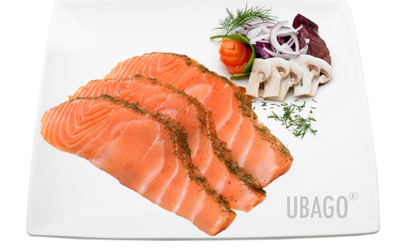 Grupo ubago las mejores recetas con nuestros productos - Salmon con champinones ...