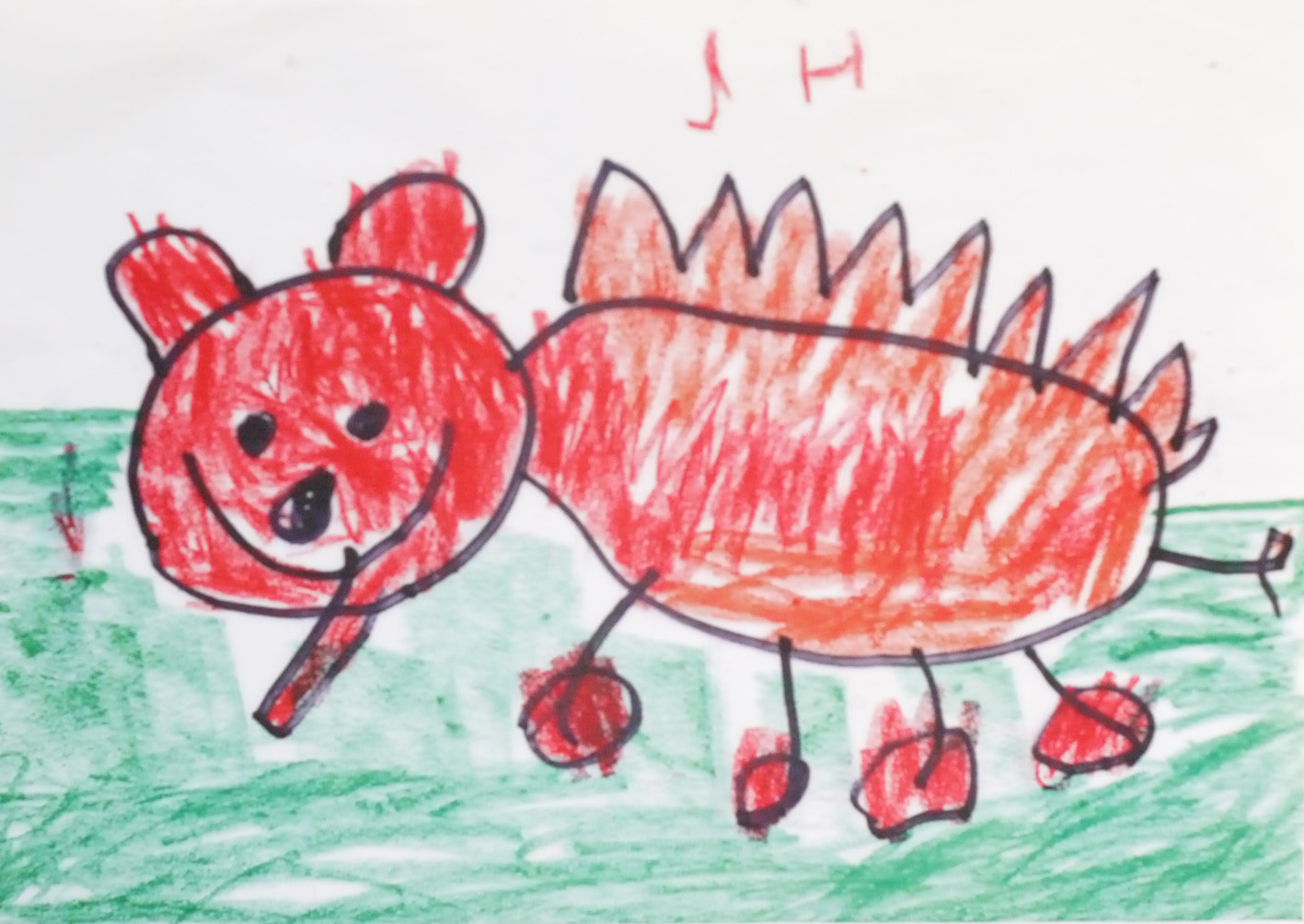softies from childrens drawings
