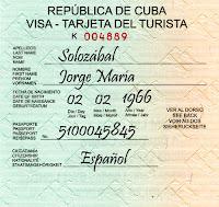 Wiza na Kubę