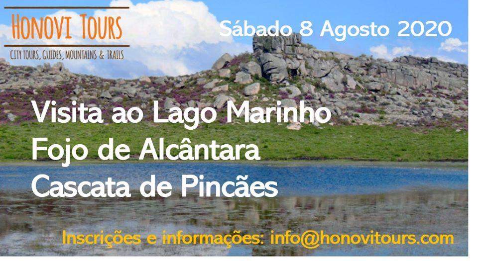 """Caminhada """"De Pincães ao Lago Marinho"""" - 8 de Agosto"""