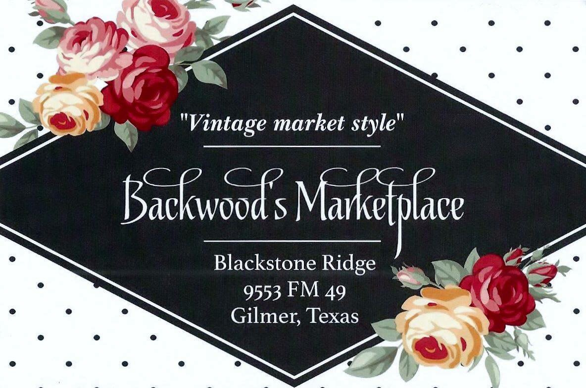 We will be at the Vintage Style Market Event at Blackstone Ridge, located outside of Gilmer, Texas