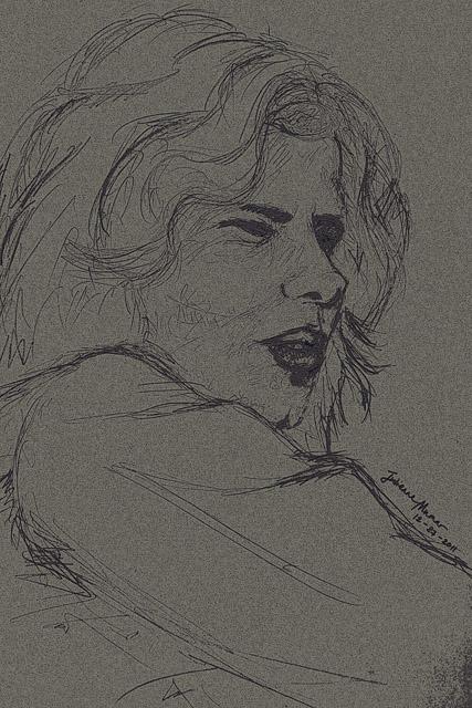 Nick Drake Sketch