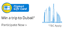 Flipkart Gift Card New Year Offer to Win a trip to Dubai : BuyToEarn