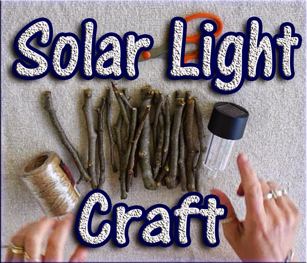 Easymeworld diy solar light craft for Where to buy solar lights for crafts