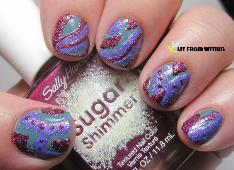 Sally Hansen Sugar Shimmer Cinny Sweet