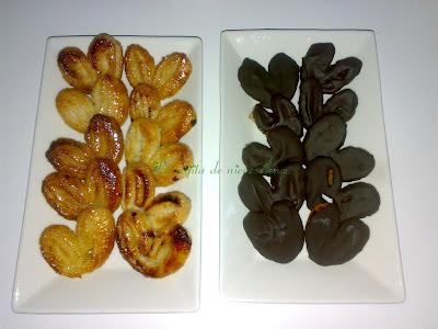 Palmeritas De Azúcar Y Chocolate