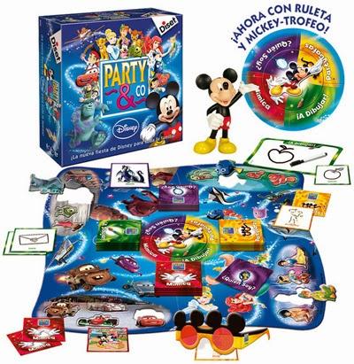 regalos niños Juego Party & Co Disney Diset