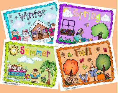 Four Seasons Poster Set