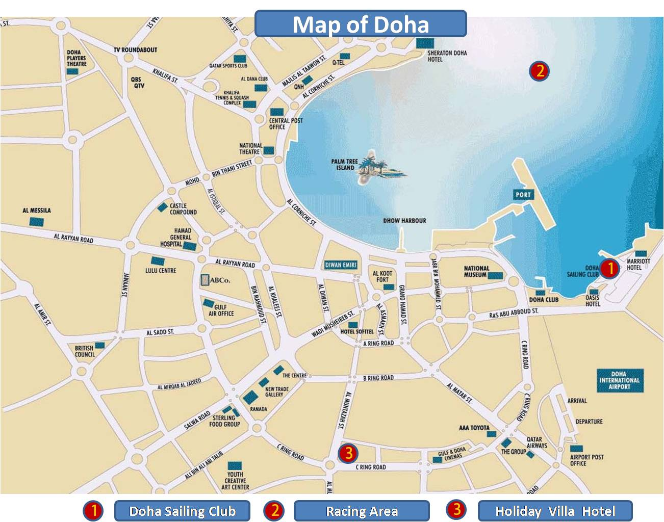 Doha Qatar The Most Incredible Qatar Attraction Tourist