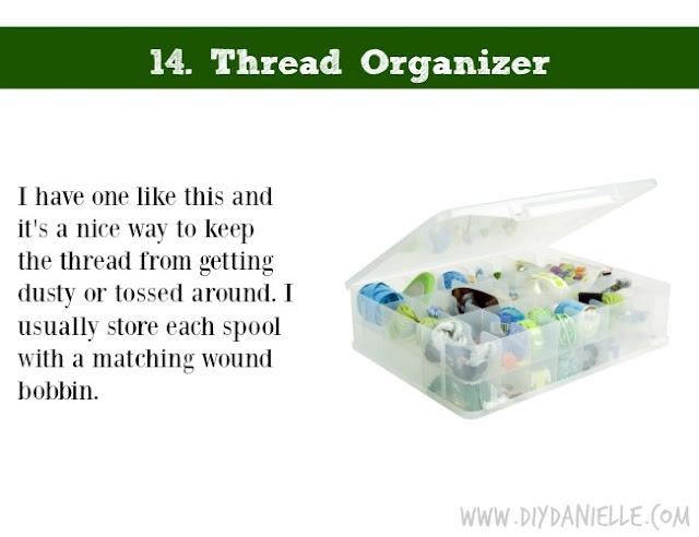 Holiday DIY Gift Guide: Thread Organizer