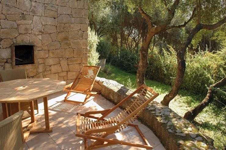 Terrasse résidence i Caselli à Olmeta