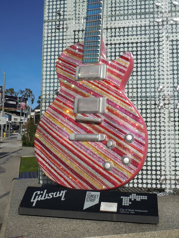 Katy Perry Guitar Sunset Strip
