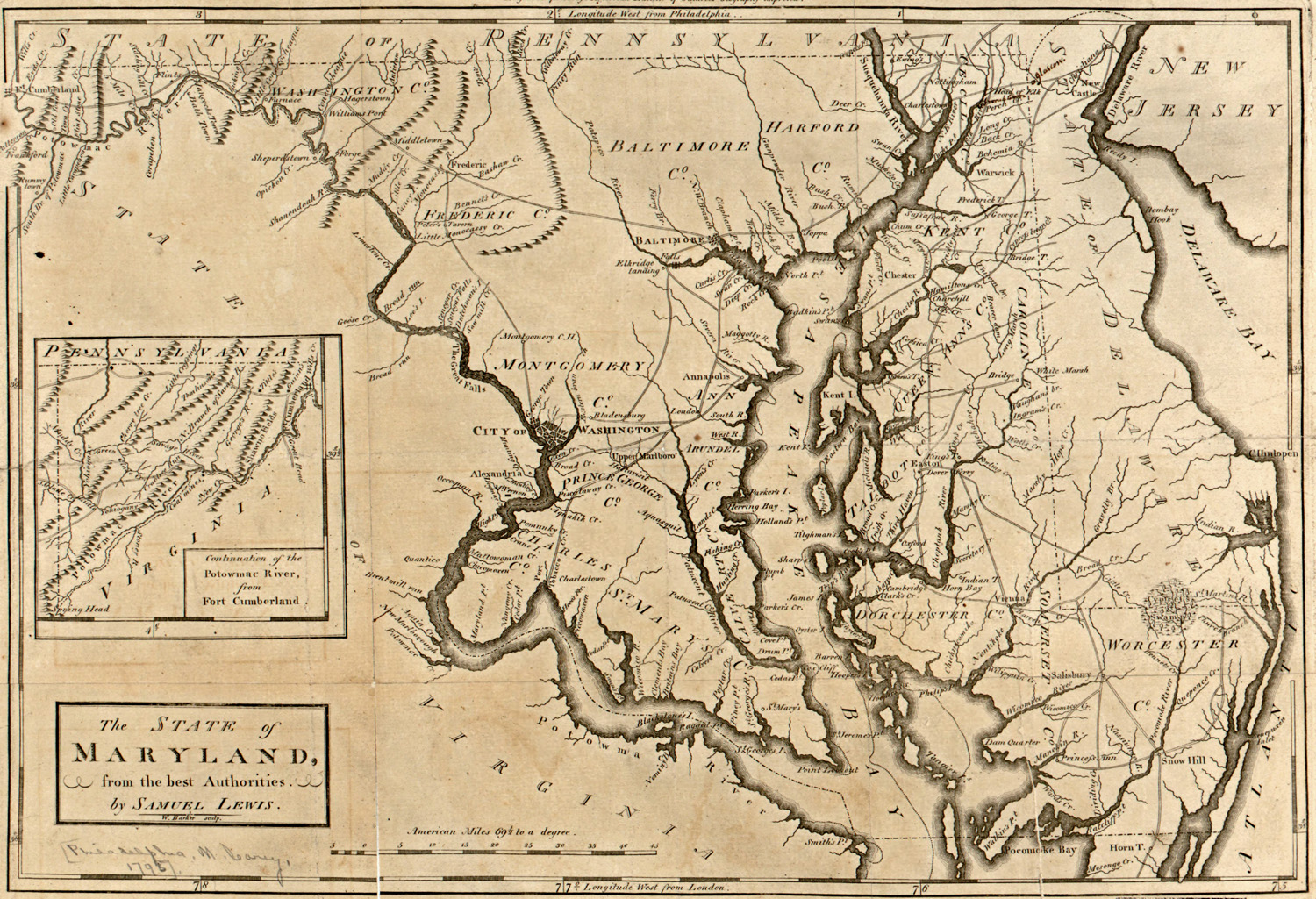 From Colonies To Revolution Map Of Historic Southern Maryland - Los angeles map wallpaper
