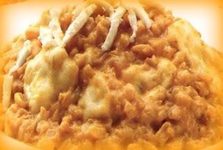 Delicia de trigo con camarones